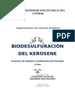 Biodesulfuración de Kerosene Ecuatoriano