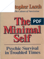 Christopher Lasch - The Minimal Self