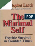Christopher Lasch - The Minimal Self