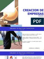 CREACION DE EMPRESAS