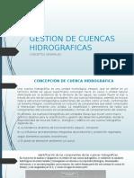 Clase 1 de Cuencas Hidrografica
