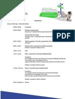 """Programa Conversatorio """"Medidas y Programas del Sistema Educativo"""
