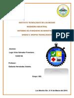 Unidad II. Grupos Tecnológicos
