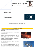 Presentacion de Masa, Velocidad y Momentum