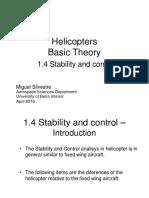 Helicopters StabilityAndControl