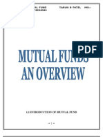 Research Report of Mutual Fund