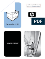 HP LJ 4100 Manual Toc
