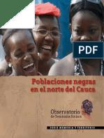 Cartilla Poblaciones Negras en El Norte Del Cauca