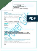 CS507 Midterm Paper 2