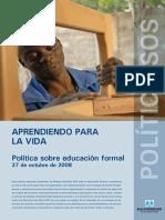 06. Politica de Educacion