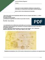 Los Sos Platos Historia de Los Poliedros Regulares