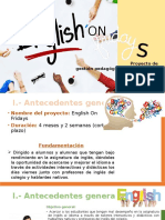 Proyecto Administracion English on Fridays