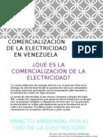 Comercialización de La Electricidad en Venezuela