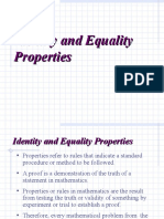 Ch 1-4 Identity and Equality Properties (1)