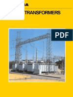 Thoshiba Power Transformer