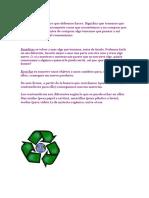 Trabajo Reciclaje Emi Tecnología