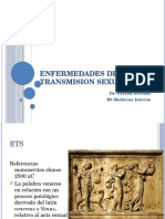 Enfermedades transmision Sexual ETS