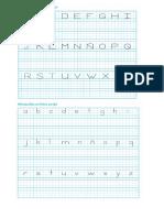 Letras Cursiva y Script