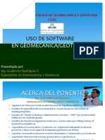 Curso Uso de Software Geomecanico- Set 2013