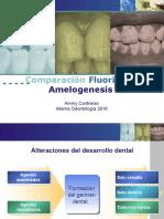 Comparación Fluorisis y Amelogenesis