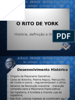 O RITO DE YORK