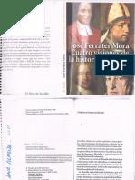 José Ferrater Mora. Cuatro visiones de la historia universal..pdf