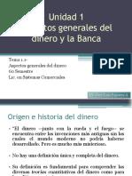 Aspectos Generales del Dinero y la Banca