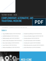 35685_complementary, Alternative, Traditional Medicine- Tutor 19 Gis-gus, Fk Unpad 2013