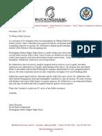 nathan gildersleeve letter of recommendation