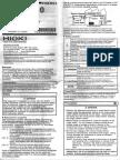 Manual Hioki 3030-10 HITESTER