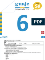 PlanificacionLenguaje6U3