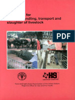 Guidelines Humane Handling Transport Slaughter