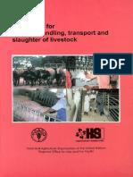 Guidelines Humane Handling Transport Slaughter