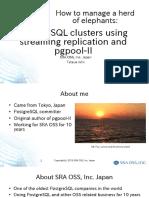 pgpool-II - streaming replication