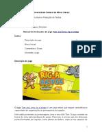Manual de Instruções Do Jogo