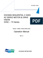 COM_Doosan TX Series Servo Drive Operation Manual(Rev B01)_131204