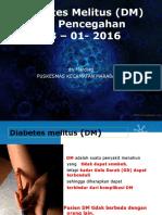 Diabetes Melitus (DM) Dr.mardiati