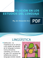 Evolucion en Los Estudios Del Lenguaje