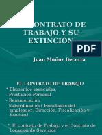 Extincion Del Contrato de Trabajo