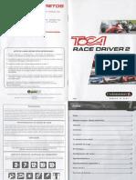 Manual Toca Race Driver 2