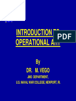 Introducción Al Arte Operacional Vego