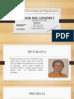 Teoria Del Confort - Katherine Kolcaba
