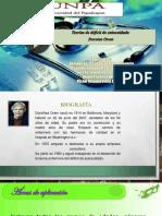 Teorías de Déficit de Autocuidado - Dorothea Orem