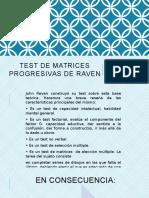 Test de Matrices Progresivas de Raven Expo