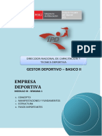 Empresa Deportiva - Semana 1 - g7