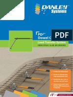 Danley PD3 Dowel Cradle Brochure