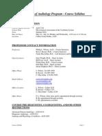 UT Dallas Syllabus for aud7351.0u1.10u taught by Phillip Wilson (pwilson, roeser)