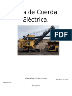 Pala de Cuerda Eléctrica
