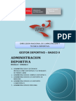 Administracion Deportiva - Semana 3-g07