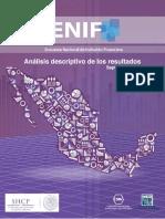 Análisis Descriptivo ENIF 2012